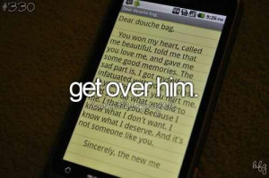 quotes about getting over him 7 get over him quotes pic