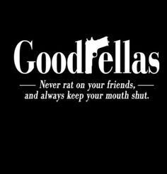 Dont be a rat...snitches get stitches bitches #quote #mafia More