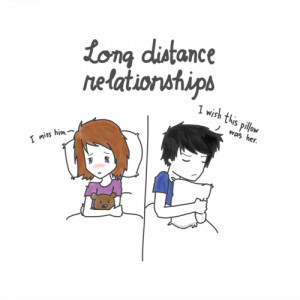 Miss You Long Distance Love Quotes and Sayings with Images: