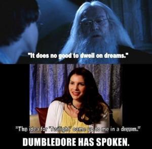 Dumbledore has spoken! - harry-potter-vs-twilight Fan Art