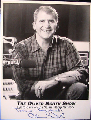 Oliver North Cartoon