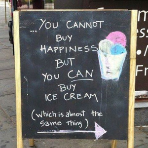 funny quotes, happiness, ice-cream, summer