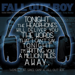 Fall Out Boy Lyrics Quotes Fall out boy, lyrics, quote,