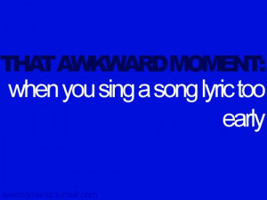 awkward, blue, funny, quote, song, text