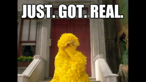 Sesame Street, 2012 Presidential Debates, Big Bird