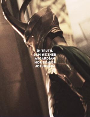 tom hiddleston loki film* film: thor this quote makes me cry tears of ...
