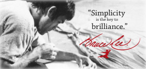 Limited Edition Brandon & Bruce Lee Art Print