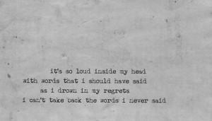 Skylar Grey: Words.