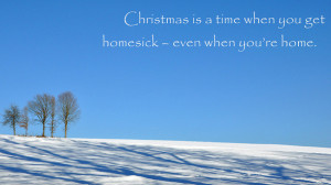 blue sky, christmas, landscape, quote, saying, sky, text, tree, trees ...