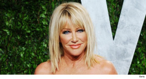 Suzanne Somers: Wonderful, Just Told Miley Where to Stick It