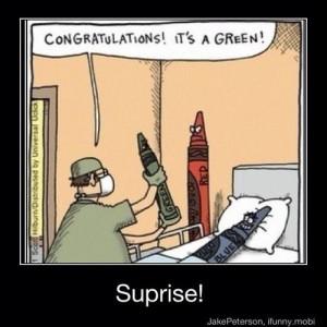 Surprise! hahahahaha