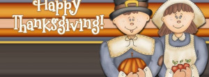 Pilgrims Happy Thanksgiving Facebook Timeline Covers