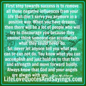 First Step Towards Success..