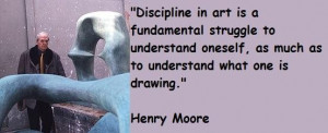 Henry moore famous quotes 1