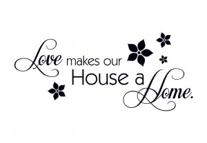 Best Verkocht - Love makes our House a Home