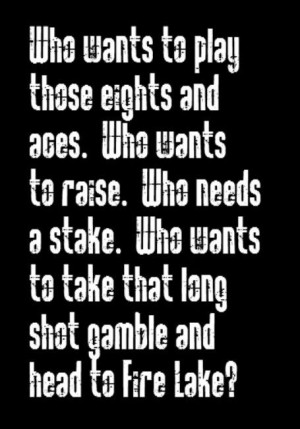 Bob Seger - Fire Lake song lyrics, song quotes, music lyrics, music ...