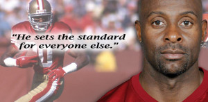 Jerry Rice , the NFL's all-time leading receiver, will be enshrined ...