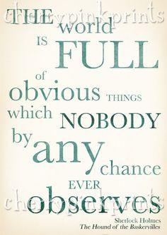 Sherlock Holmes Quotes - Sherlock Holmes Quotes on Pinterest ...