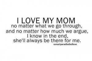 black and white, letters, love, mom, mother, quotes, textography ...