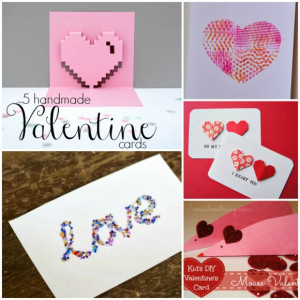 Handmade Valentine Cards (and how they can make a difference)