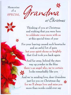 cm13 grandma memories of a special grandma at christmas