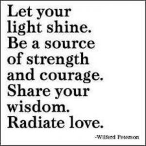 Let it shine!