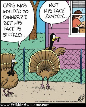 turkey invited to thanksgiving dinner more funny pictures, hilarious ...