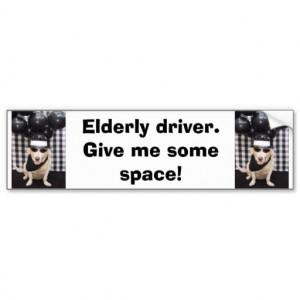 Respect Your Elders Bumper Sticker