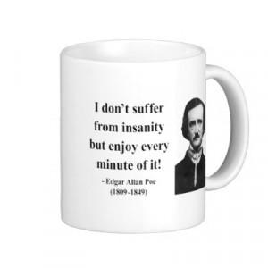 edgar allan poe quotes on insanity
