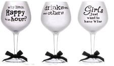 ... frosted balloon wine glass happy birthday gift funny drinking quotes
