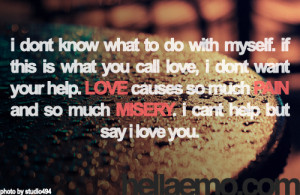 love hurt picture quote what is pain