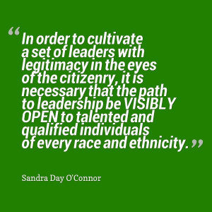 We can and must do better. #Diversity #Leadership #Quote