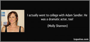 More Molly Shannon Quotes