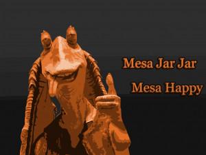 Jar Jar Binks , el post que se merece