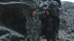 Jon Snow Jon and Ygritte