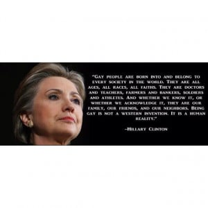 Hilary Clinton #LGBT #support #LGBTsupport #ally