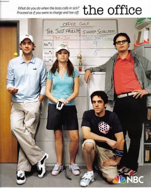 The Office Jim, Pam, Ryan & Dwight