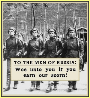 Female Soldiers Quotes Bolshevik women who showed