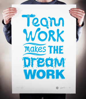 Designer Showcase – Ginger Monkey - Team Work Makes The Dream Work
