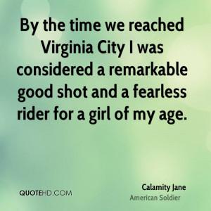 Calamity Jane Quotes
