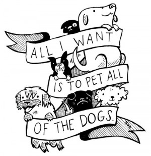 Pet All of the Dogs by Nation of Amanda