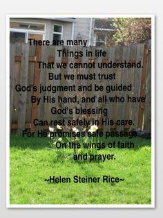 Inspirational Poem More