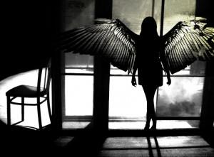 black angel;