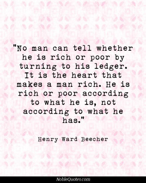 Henry Ward Beecher Quotes | http://noblequotes.com/ | Encourage!