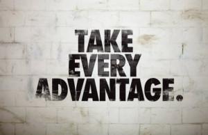 but don't take advantage