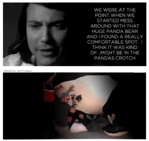 Frank Iero   funny quotesGerard Way Funny Quotes, Chemical Romances