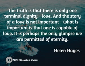 Love Quotes - Helen Hayes