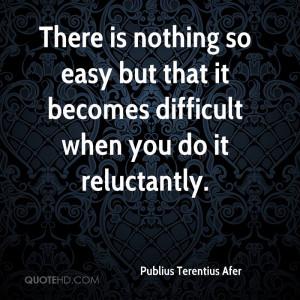 Publius Terentius Afer Quotes