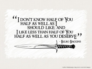 quote:Bilbo Baggins