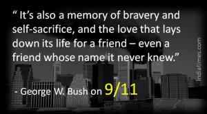 George W Bush 9 11 Quotes